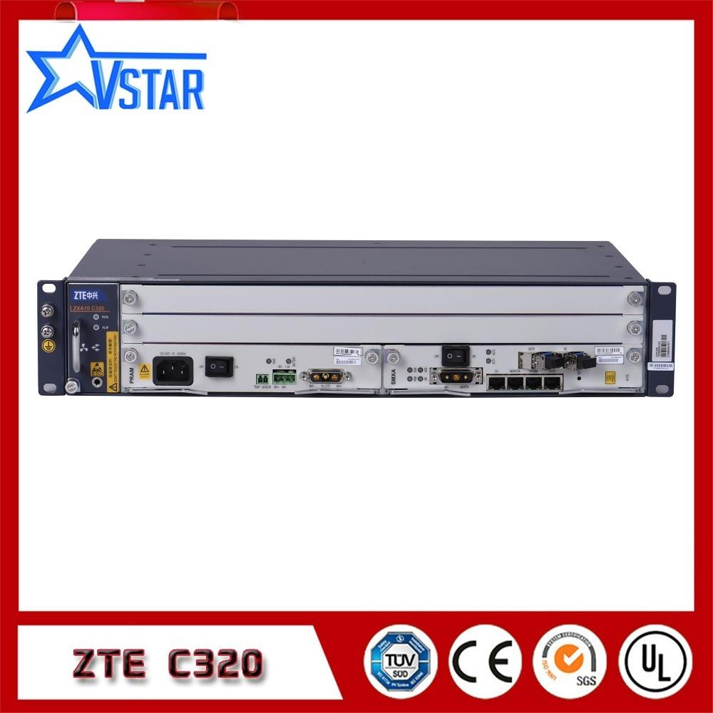 Original ZTE ZXA10 C320 OLT, with SXMA card/PRAM card, DC power supply