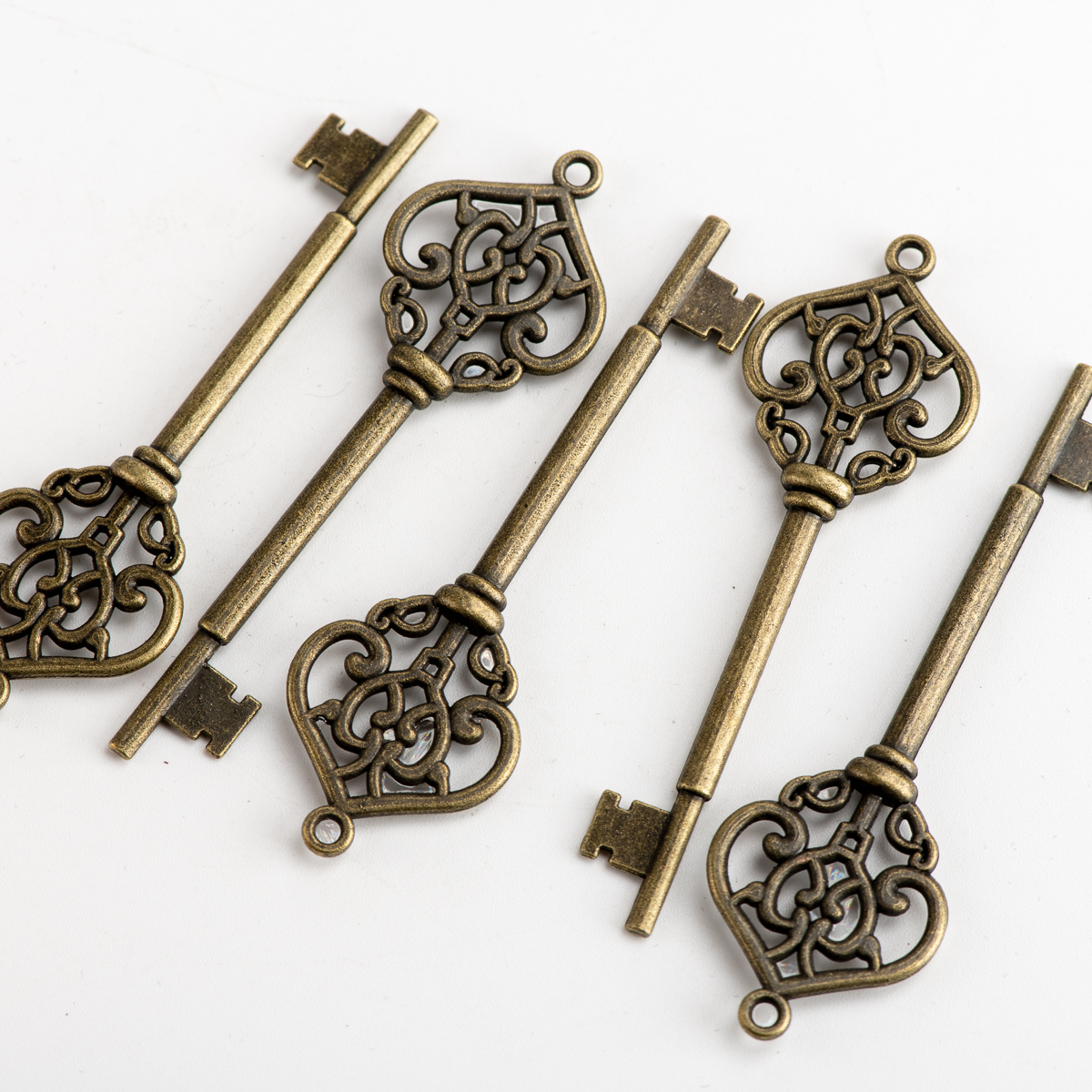 Key Shape DIY Alloy Pendant Jewelry Findings Charms Jewelry Findings & Components For Jewelry Making #JY202