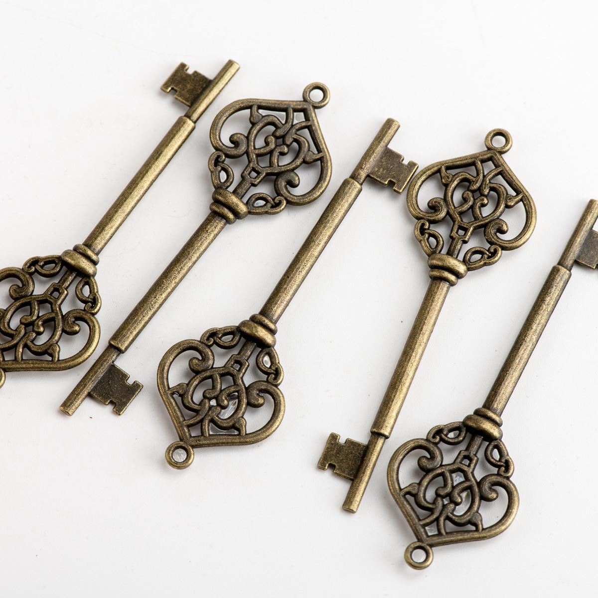 Key Shape DIY Alloy Pendant Jewelry Findings Charms Jewelry Findings & Components For Jewelry Making #JY202