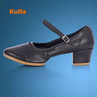 Salsa Dancing Shoes For Woman Ladies Eight Season Roune Toe Ballroom Party Wedding Dance Shoes Practice