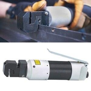 Image 3 - 1 adet hava ile çalışan pnömatik Punch aracı çinko alaşım pnömatik Punch aracı kenar ayarlayıcı Panel flanş 5Mm yumruk araba
