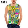 Nuevo Diseño de Moda Chalecos Color Mezclado Impreso hombres Tank Tops Chaleco Respirable de Los Hombres del Verano Camisetas de Fitness Entrenamiento Crossfit para Los Hombres