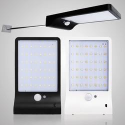 الطاقة الشمسية الخفيفة في الهواء الطلق حديقة الأمن Led مصباح لوحة تعمل بالطاقة الشمسية الجدار Lampada PIR محس حركة مقاوم للماء IP65 ديكور