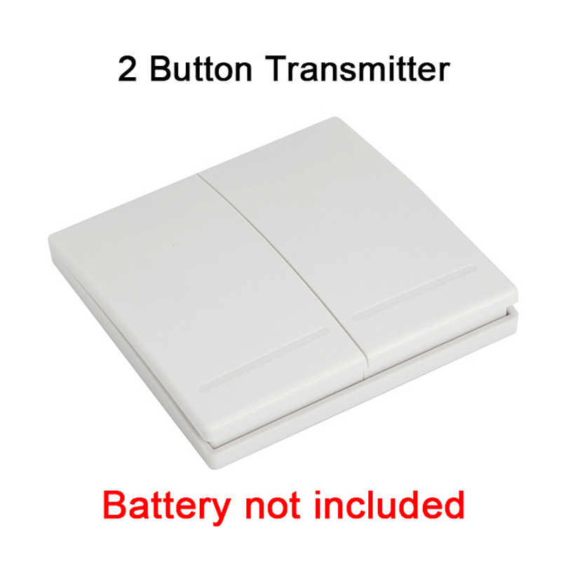 QIACHIP WiFi Smart Switch receptor módulo 433 Mhz 110 V 220 V Smart Home Control de pared interruptores de luz de trabajo con Amazon Alexa