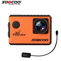 SOOCOO S100PRO 4K UHD Wifi Sports Camera Touch Screen Gyro With GPS Extension Model Voice Control