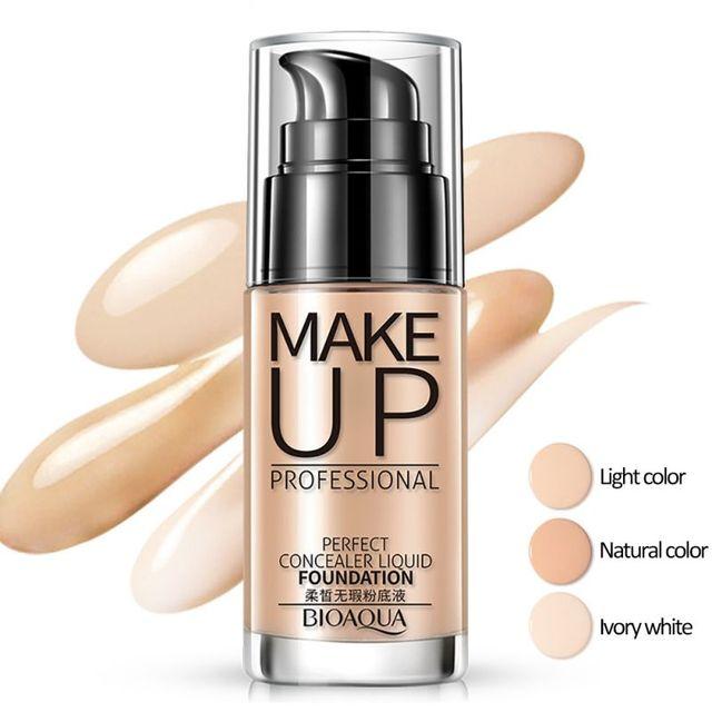 Face Foundation Makeup Base Liquid Foundation BB Cream Concealer Whitening Moisturizer Oil-control Maquiagem