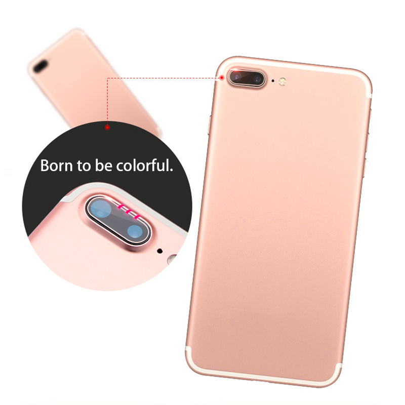 Camera Len Protector Tempered Glass For iPhone X 10 0.2MM Film Back Lnes Protection Cover For iPhone7 8 Plus Protective Glass