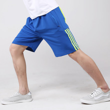 Europe Men's Summer Stretch Short Dry Fitness Plus Size 5XL Men Pockets Zipper Leisure Comfortable Loose Shorts Big China Cheap