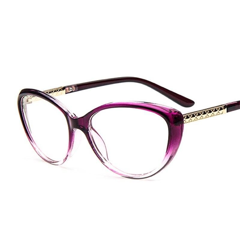 aliexpresscom buy designer cat eye glasses fashion women optical prescription glasses frame clear lens glasses reading vintage eyewear lunettes de from
