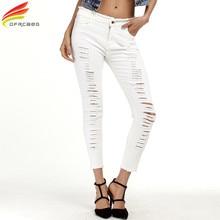 DFRCAEG Jeans Woman Plus Size 2017 Summer Denim Jeans Womens High Waist Jeans Femme Fashion Pantalones Mujer Pant Ripped Jeans