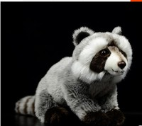 27CM Raccoon Plush Toy Cute Raccoon Soft Stuffed Animals Doll GIFT For Girls Children Kids Baby