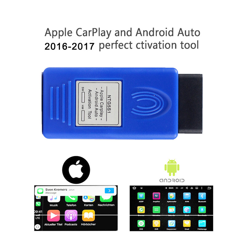NTG5 S1 CarPlay Auto OBD Activator carplay NTG5 S1 for benz car activation Tool For iPhone Android car accessories kit