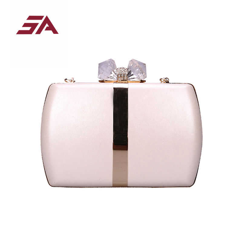 5d7c416fc15 SA Box Banquet Party Evening Bag with Hasp Lock Women Bag Purse Day  Clutches Ladies Wedding