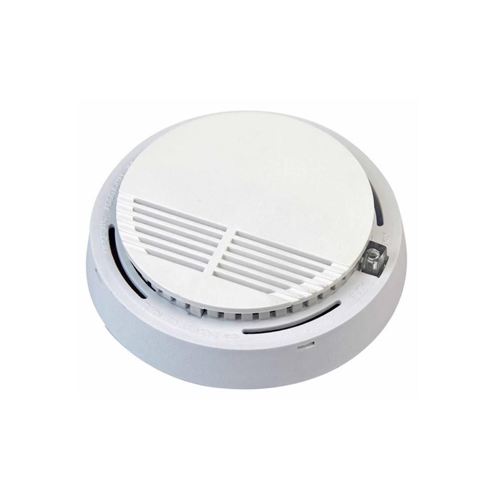 Smoke Detector Fire Alarm Smoke Detector Independent Photoelectric Alarm Sensor For Office Security (no Including Battery)
