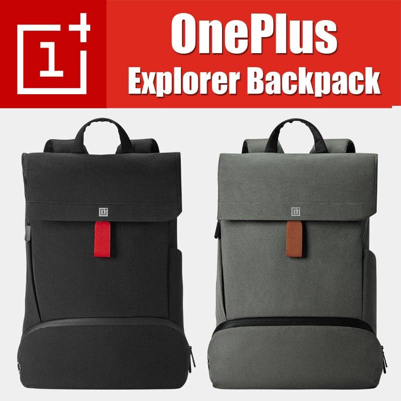 In magazzino Originale OnePlus Explorer Zaino Intelligente e Semplice Materiale Cordura zaino di Viaggio