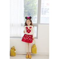 Winter Autumn Fashion Boutique Outfits Clothing Baby Party Girl Sets Cute Mikey Mouse Tops Tutu