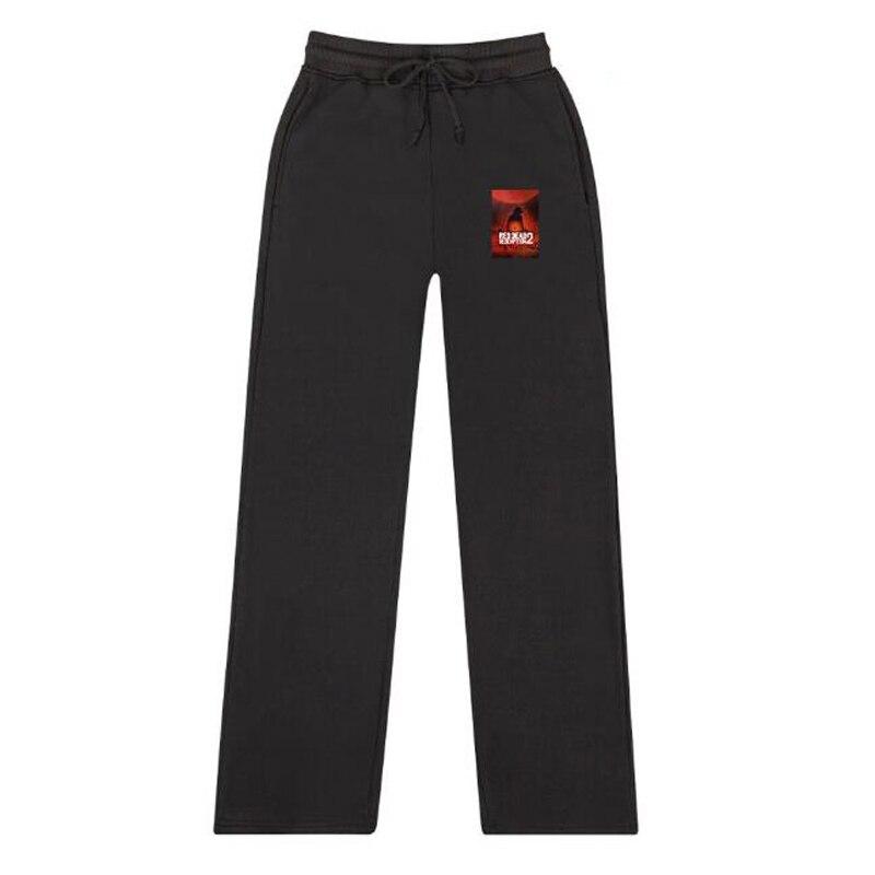 RED DEAD REDEMPTION 2 100% Cotton Men and Women Trousers Casual Sweatpants Jogger Pants Loose HipHop Harem Pants Streetwear
