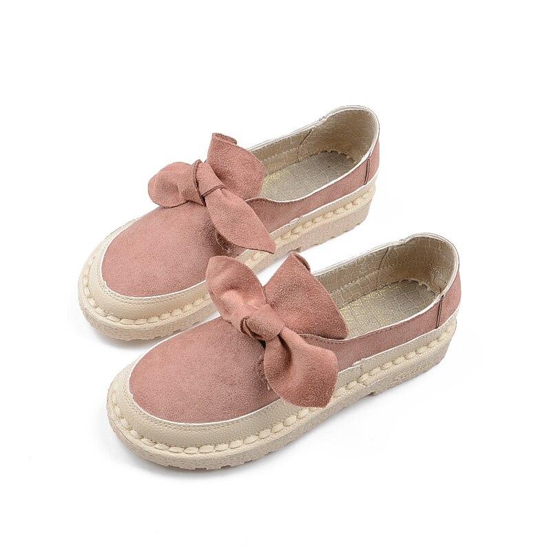 rosado Otoño A Zapatos Mujer De azul Retro Hechos Cómodos Literaria Cuero Planos Fondo Suave Nuevo Genuino Salvaje Casuales Cielo Solo caqui Beige Mano negro Agradable Tn4zrwgTq