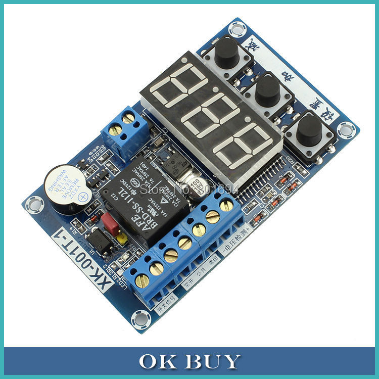 Multifunctional Time Relay Timer Voltage Detection Super Cost-effective Control Board Delay Relay Buzzer Switch Module 1pcs current detection sensor module 50a ac short circuit protection dc5v relay