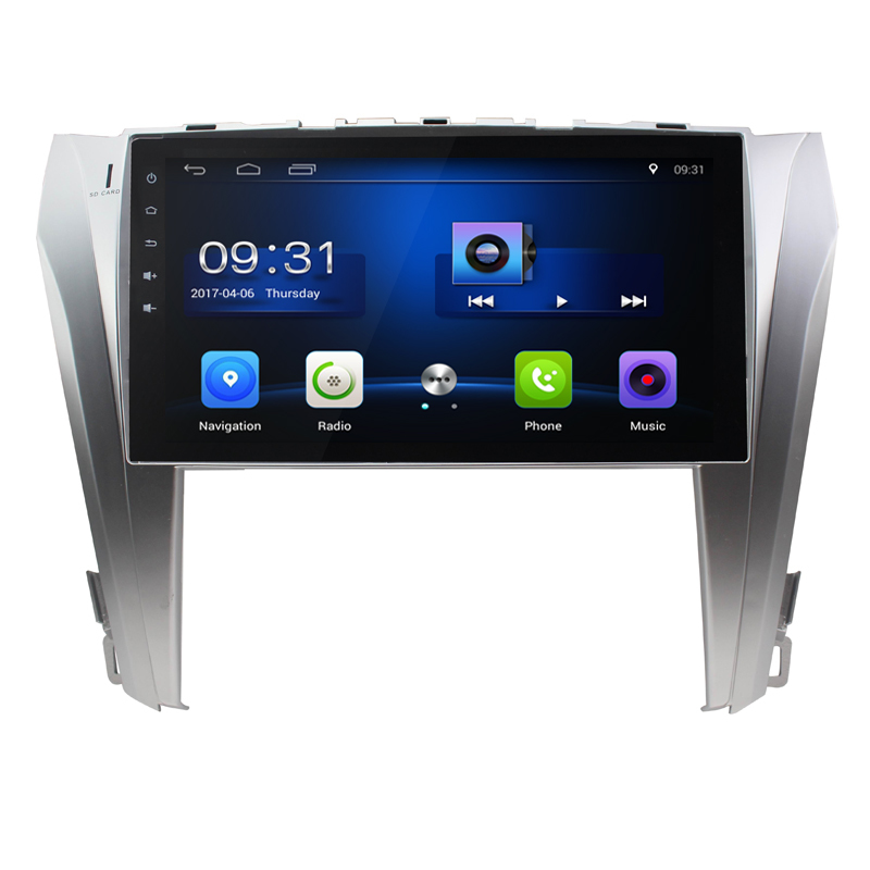 10.2Android 7.0 ! Car DVD PC Multimedia DVD Player GPS Navi Stereo Radio Fit Toyota Camry 2015 16 17 18 3G WIFI OND CAMERA MAP