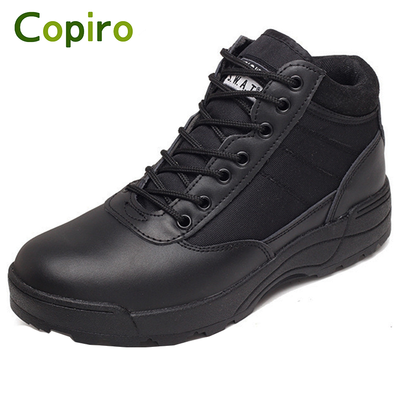 Copiro Spring Breathable Tactical Boots Hiking Shoes Men Outdoor Waterproof Climbing Sneakers  Lace-Up Zapatilla Trecking male athletic shoes breathable cushioning outdoor sport sneakers men lace up anti skid hunting krasovki zapatilla hiking shoes