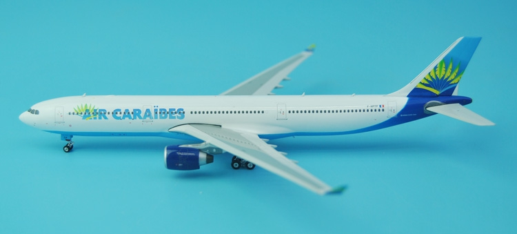 new rare Fine Phoenix 1: 400 11329 Caribbean Airlines A330-300 F-HPTP Alloy aircraft model Collection model Holiday gifts fine phoenix 1 400 11198 thai airways b787 8 hs tqb alloy aircraft model collection model holiday gifts