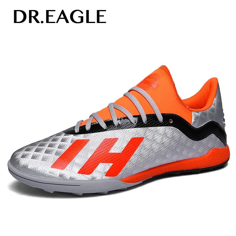 0bd149af85 Dr. águia Centopéia Relva Futsal Indoor Futebol Sapatos para Homens Botas Sapatos  Chuteiras De Futebol