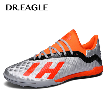 0e723647d Dr.eagle Centipede Futsal Turf Indoor Soccer Shoes for Men Boots Cleats  Football Shoes for Boys Child Training Sneakers for Kids