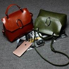 Echtes Leder handtaschen trend rindsleder plattierte abdeckungsart frauen tasche frauen tragbare schulter diagonal tasche einfache wilden süße dame tasche