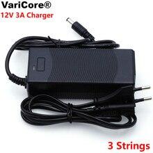 Chargeur de batterie au Lithium, batterie au Lithium 12.6 V 3A 18650, tension constante à 3 cordes, chargeur au Lithium en polymère 12V