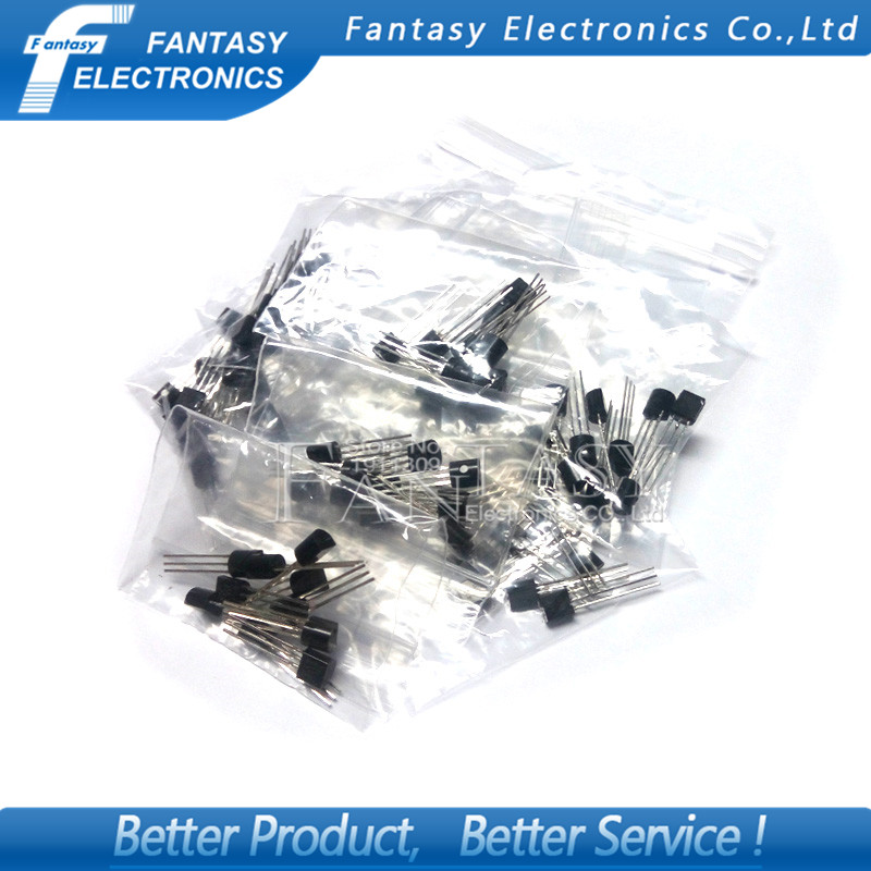 10pcs*12value=120pcs Transistor TL431 78L05 78L09 78L15 2N7000 2N2222 2N5401 2N5551 C945 MJE13003 MJE13001 2SD882 TO92 Free Ship