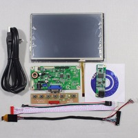 VGA LCD Controller Board M RT2270 1C Kit 7inch N070ICG LD1 1280x800 IPS LCD Screen Panel