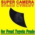 Para a Sony CCD Toyota Rav4 Corolla Camry Land Cruiser Prado Avensis Auris Highlander Dianteira Do Carro Autoradio Sensor de Câmera de Segurança