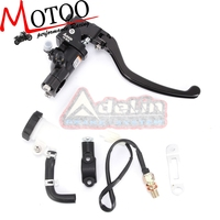 Motoo Motorcycle 19RCS Brake Adelin Master Cylinder Hydraulic FOR HONDA R1 R3 R6 FZ6 GSXR600 750 1000 NINJA250 ZX 6R Z750 Z800