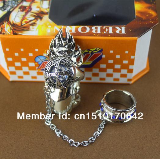 Katekyo Hitman Reborn Hell Rings Necklace Necklace Meaning Ring