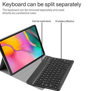 Image 3 - Máy Tính Bảng 10.1 Inch Bluetooth Đèn Nền Bàn Phím Cho Samsung Galaxy Tab A 10.1 2019 SM T510 SM T515 Kèm Bao Da