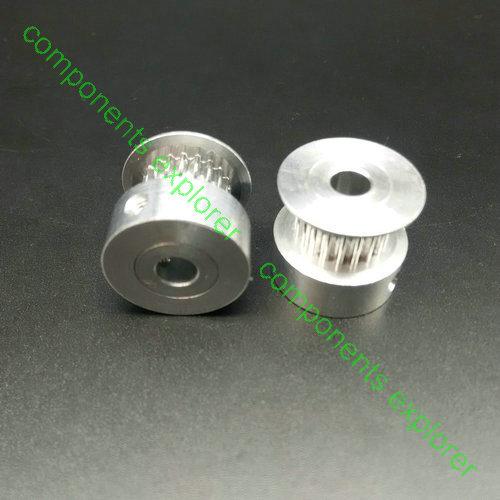 """Imperial Timing Belt Pulley CNC ROBOTICS 3//8/"""" 18-L-050 Pilot Bore"""
