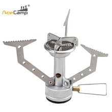 AceCamp Outdoor Portable Mini Ultralight Camping Gas Stoves High-strength Aluminum Alloy and Stainless Steel