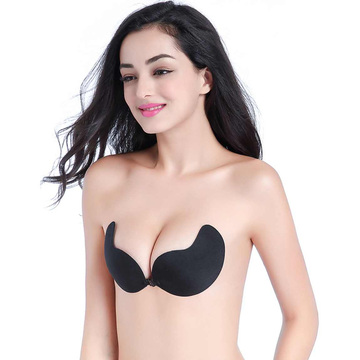 caa1cc3136f02 Sexy Women Silicone Bra Push Up Strapless Backless Self-Adhesive Gel Stick  Invisible Bras