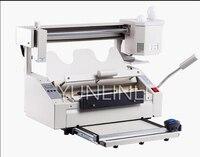 Área de Trabalho do Desktop manual Pequena Máquina De Plástico 220 V Hot Melt Vinculativo Máquina Livro Pequeno Concurso Gráfico A3 JB-5