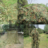 6M*10M Hunting Blind Camouflage Net 150D Polyester Oxford Digital Cut Camouflage Net Sun Shelter Tent for Hunting Shooting Net