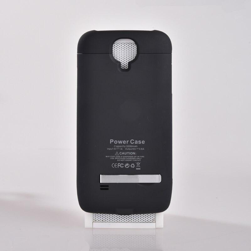 imágenes para 3200 mah poder case teléfono de reserva externa power bank case mochila de carga de la batería case para samsung galaxy s4 i9500