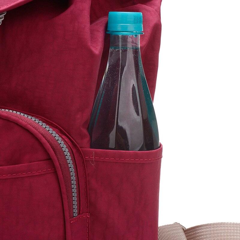 New Arrive Fashion Casual Waterproof Nylon Backpack Bag #6