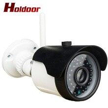 Holdoor CCTV Камера видеокамера Wi-Fi Беспроводной темно-черный невидимый Инфракрасный 940 нм светодиоды наружное записывающее устройство Системы Видео Безопасности Cam