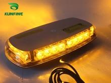 Водонепроницаемый Автомобиля LED вспышка света автомобиля фонарик прокат светофора высокое качество автомобилей Светодиодные лампы с магнитом KF-L3136