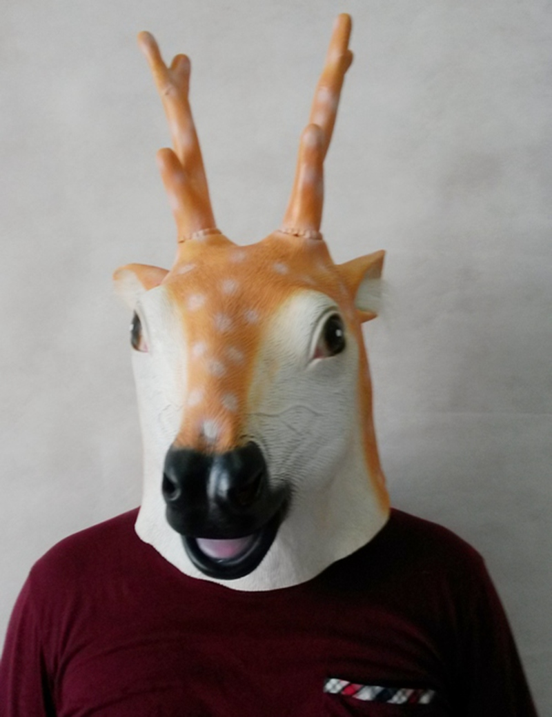 Online Buy Wholesale deer head mask from China deer head mask ...
