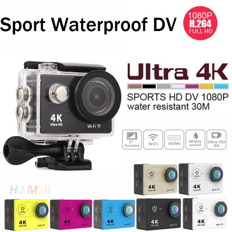 Clearance Action Camera H9 Ultra HD 4K WiFi Remote Control Sports Video Camcorder 170D DVR DV go Waterproof pro CameraClearance Action Camera H9 Ultra HD 4K WiFi Remote Control Sports Video Camcorder 170D DVR DV go Waterproof pro Camera
