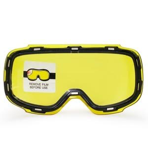 Image 3 - COPOZZ Original GOG 2181 Lens Yellow Graced Magnetic Lens for Ski Goggles Anti fog UV400 Spherical Ski Glasses Night Skiing Lens