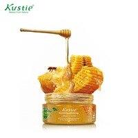 Kustie Natural Exfoliants Honey Almond Body Scrub Jam For Dead Skin Cells Removing 200ml