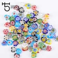 10mm Mix Farbe Liebe Herz Glas Perlen Für Armband, Diy Handwerk Perles Handgemachte Blume Lampwork Perlen Großhandel Q502